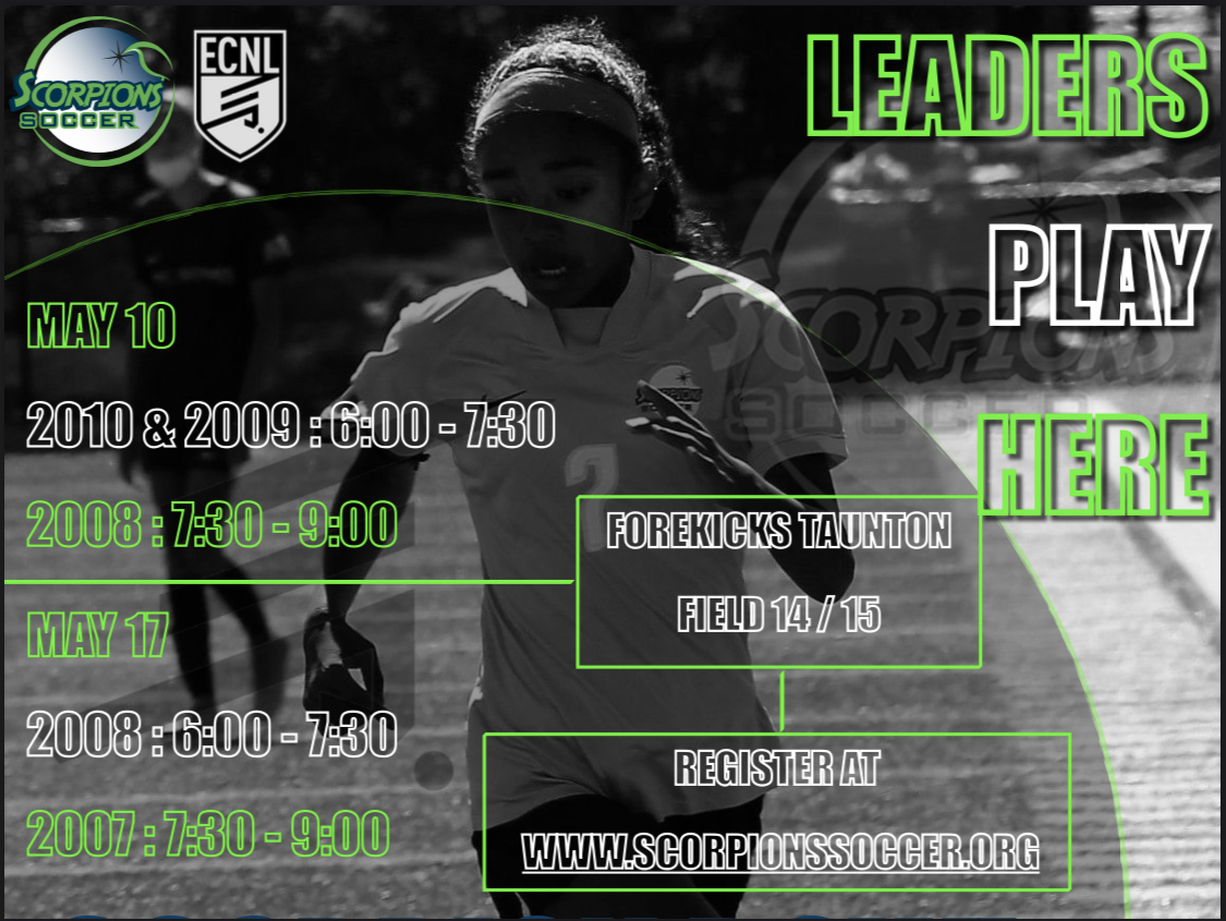 ECNL ID EVENT DATES ANNOUNCED: 2010-2007