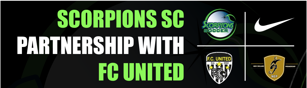 Scorpions Announce Partnership with FC United for 2020/21 !
